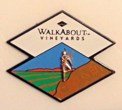 Outback Steakhouse Walkabout Vineyards collectible hat lapel pin