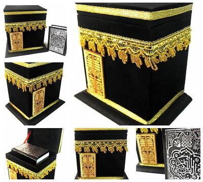 Kleine KAABA MEKKA+Quran Koran *Muslim hijab kaftan Islam Allah Khimar Takschita