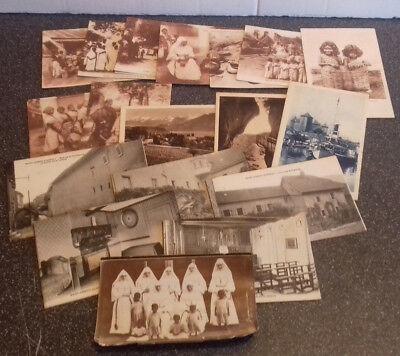 18+ x Vintage Postcards Soeurs de ( Sisters of ) Saint Joseph - Annecy & Indies