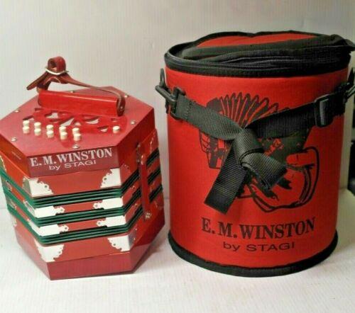 E.M. WINSTON STAGI CONCERTINA 20 PLUS 1 BUTTON