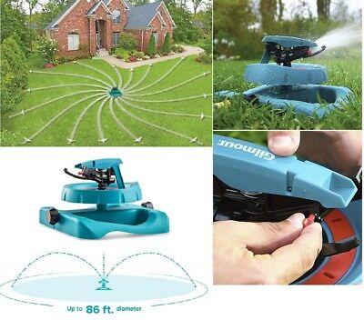 Lawn Sprinkler Watering System Water Hose Spray Pattern Garden Base Impulse