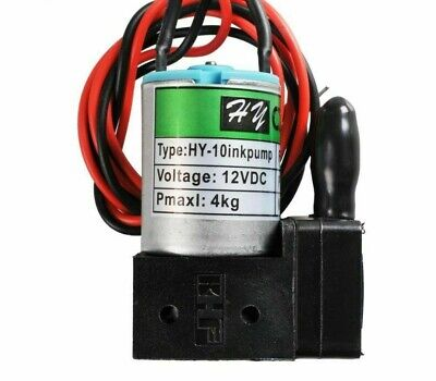 Hy-10 Dc12v 3w100mlmin Small Ink Pump Anti-corrosion For Large Format Printer