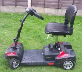 Drive Scout Lightweight 4 Wheel Portable Travel Mobility Scooter £300