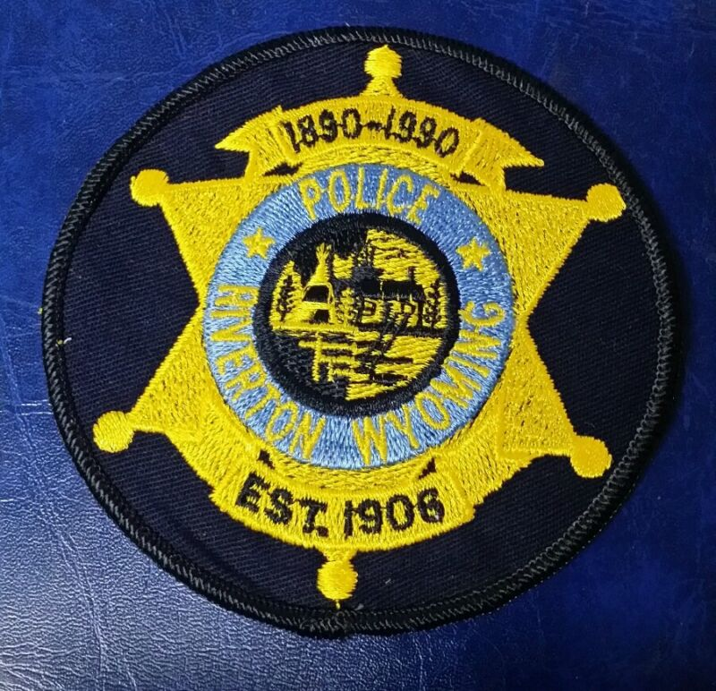 RIVERTON, WYOMING POLICE SHOULDER PATCH WY