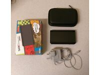New Nintendo 3DS Black Boxed with Charger and Carrying Case