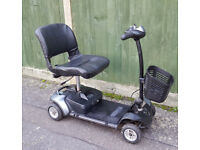 Car Boot Portable Mobility Scooter New Batteries 3 Month Warranty