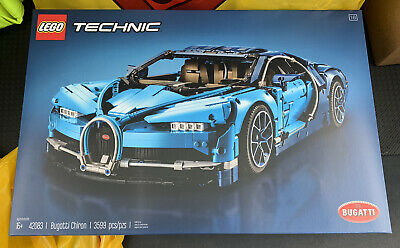 LEGO Technic Bugatti Chiron Blue Race Car Set 42083 NEW SEALED