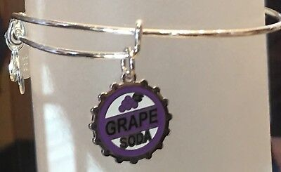 SOLD OUT Disney Alex And Ani Pixar Pier Fest UP Grape Soda Silver New with tags