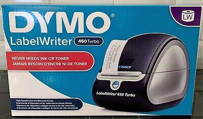 Dymo Labelwriter 450 Twin Turbo Thermal Label Printer Usb Windows Mac