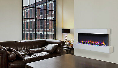 Endeavour Fires Runswick Wall Mounted Electric Fireplace 220/240Vac 50 Hz 1&2kW