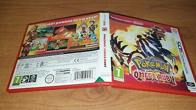 [CASE ONLY] Pokemon Omega Ruby Nintendo 3DS Case - NO GAME