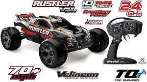 Traxxas Rustler VXL 2WD Brushless Stadium Truck mit TSM Stabi System 37076-3