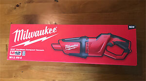 Milwaukee M12 cordless compact vacuum skin Bonnells Bay Lake Macquarie Area Preview