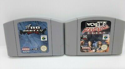 WWF No Mercy & WCW/NWO Revenge Nintendo 64 Games Genuine N64 Games - PAL - #2