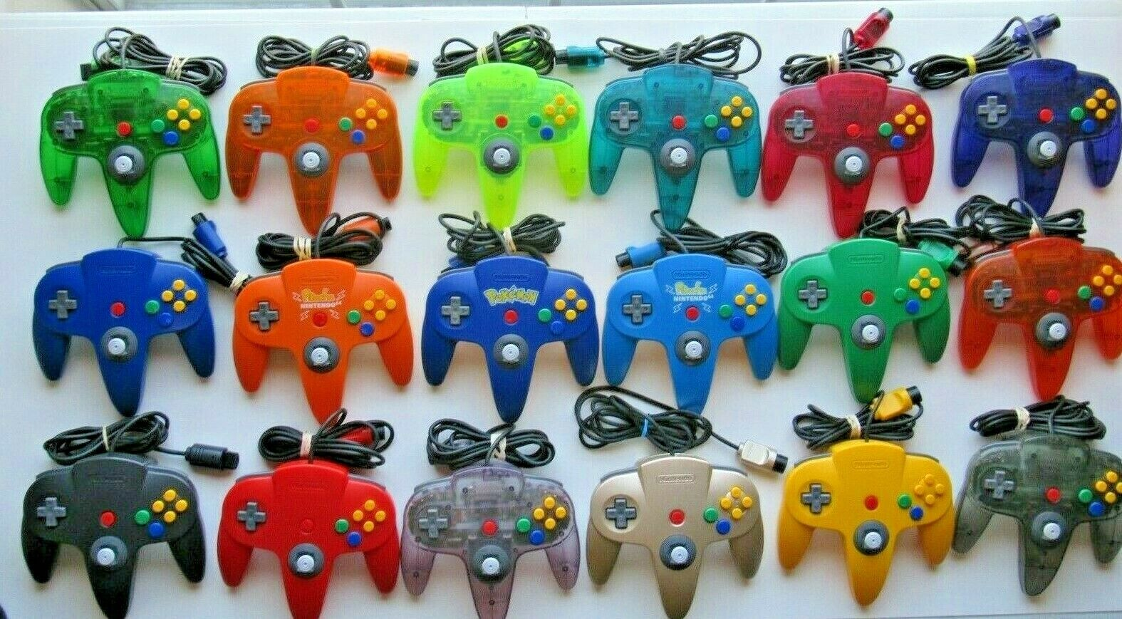 *GREAT* Original Nintendo 64 N64 Official OEM Video Game Controller Genuine PICK