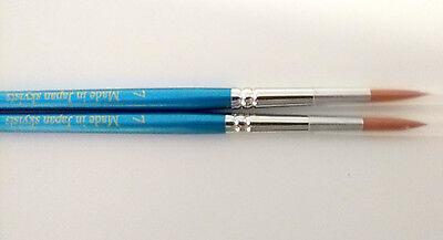 10pcs Skyists Dental Porcelain Brush Pen 7 Dental Lab Equipment Made In Japan
