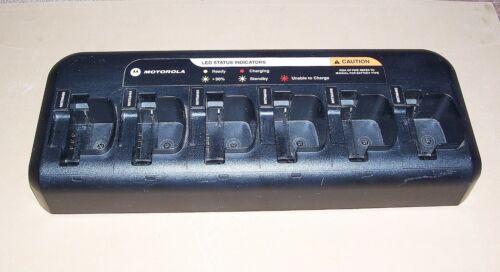 Motorola PMLN6588A NNTN8410A Universal Gang Charger CP200 CP200d PR400, CP150