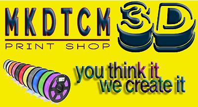 MKDTCM3D Print Shop