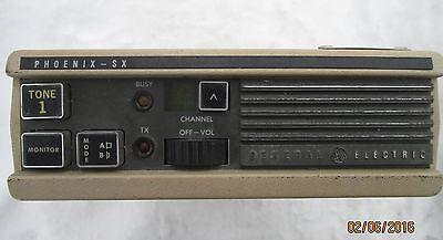 Vintage General Electric Ge Phoenix-sx 2 Way Radio 30 Watt
