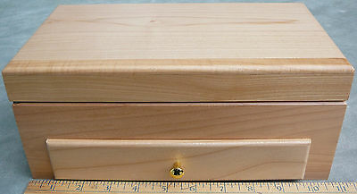 Collectors wooden storage display box watches, minerals, trinkets, valuables NEW