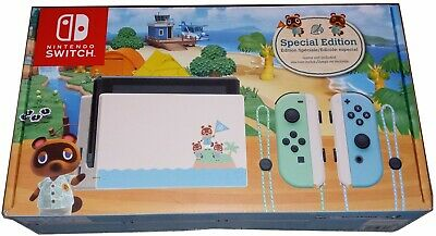 Nintendo Switch Console 32GB Animal Crossing New Horizons Edition NO GAME