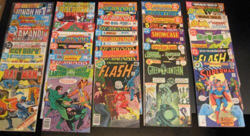 Wow! BIG Lot of *124* Nicer, Late 70s/Bronze DC Comics! Supes/Bats/War/Horror++