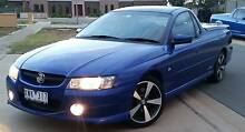 2007 HOLDEN SVZ UTILITY -Blue -Leather interior -Lockable Hardtop Echuca Campaspe Area Preview