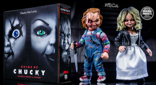 Neca - Bride Of Chucky - Ultimate Chucky & Tiffany - Action Figures 2-PACK