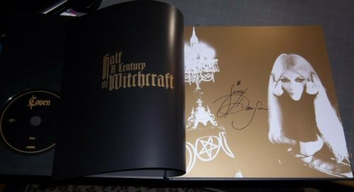COVEN JINX NEW 5 CD 72 page Art Book, Signed,