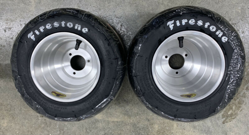 Brand New  Aluminum outlaw Wheels And Firestone Yjf Tires