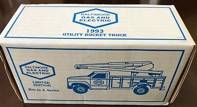 ERTL Baltimore Gas and Electric Ford 1993 Utility Bucket Truck, NEW IN BOX LE
