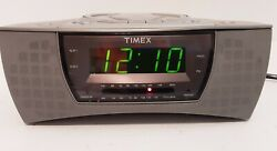 Timex Stereo CD Dual Clock Radio With Nature Sounds Model T608 with manual