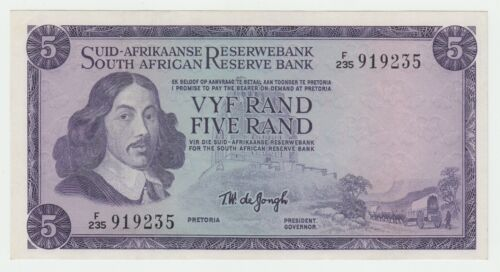 South Africa 5 Rand 1975 aUNC Pick 112c