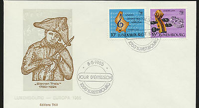 Luxembourg  Europa First Day Cover Cacheted Unaddressed  LOT A151