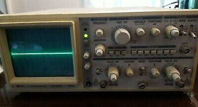 Lg Oscilloscope Os 5020g Dual Trace 20 Mhz