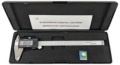 8 Inch Stainless Steel Electronic Lcd Digital Vernier Caliper Gauge With Case
