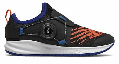 New Balance Kid's Fuel Core Reveal Little Kids Male Shoes Black with Blue &