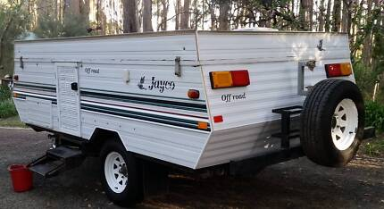 Jayco Offroad Eagle Campervan Crafers Adelaide Hills Preview