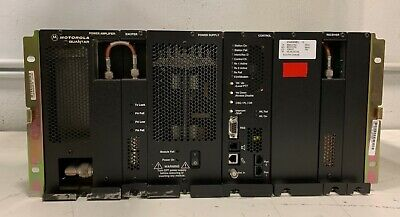 Motorola T5365a Quantar 800mhz Uhf Base Station Repeater W Modules Power Supply