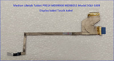 Medion Lifetab Tablet P9514 MD99000 MD98052 Model SQU-1009 Display  Touch Kabel gebraucht kaufen  Langenfeld