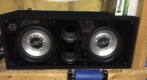 "10"" Dual Subwoofer"