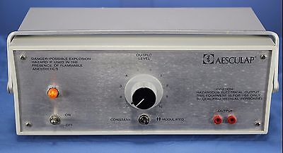 Aesculap Coagulator Esu Electrosurgical Unit Esu Warranty