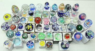 NEW Wholesale Lucky Dip Job Lot of 16 x Beautiful Handmade Paperweights FREE P&P