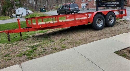 18ft. Heavy duty equipment trailer/ SOLD!
