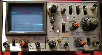Hitachi Denshi V-509 50mhz Dual Channel Analogue Oscilloscope - Working Order