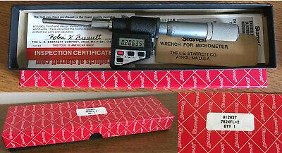 Starrett 762xfl-2 Micrometer Head Nos