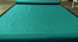 Teal Green Bimini Top Boat Cover UV Outdoor Coated Marine Canvas Fabric DWR 60