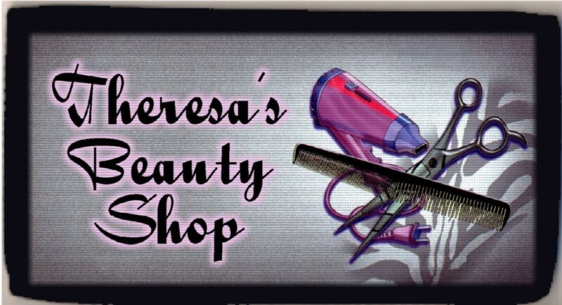Personalized Custom Hairdresser Scissors Comb Blow Dryer Checkbook Check Cover