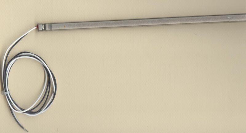 "ATC Cartridge Heater 3/8"" Dia X 14"" Long 500W 240V w/ 24"" Teflon Leads"