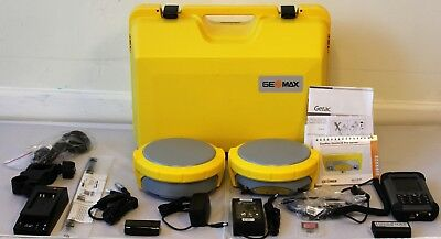 Geomax Zenith 25 Gps Gnss Base And Rover Kit W Getac Fieldgenius Data Collector